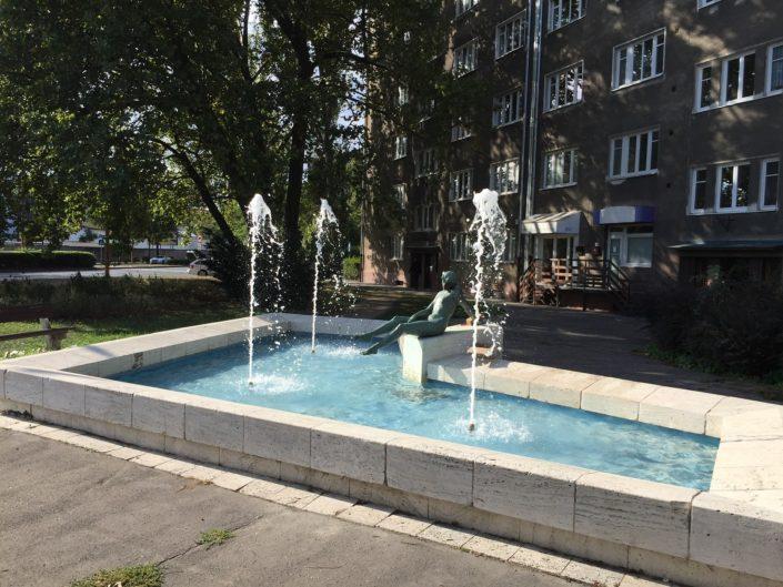 Technologia, fontana Zuzka, Bratislava