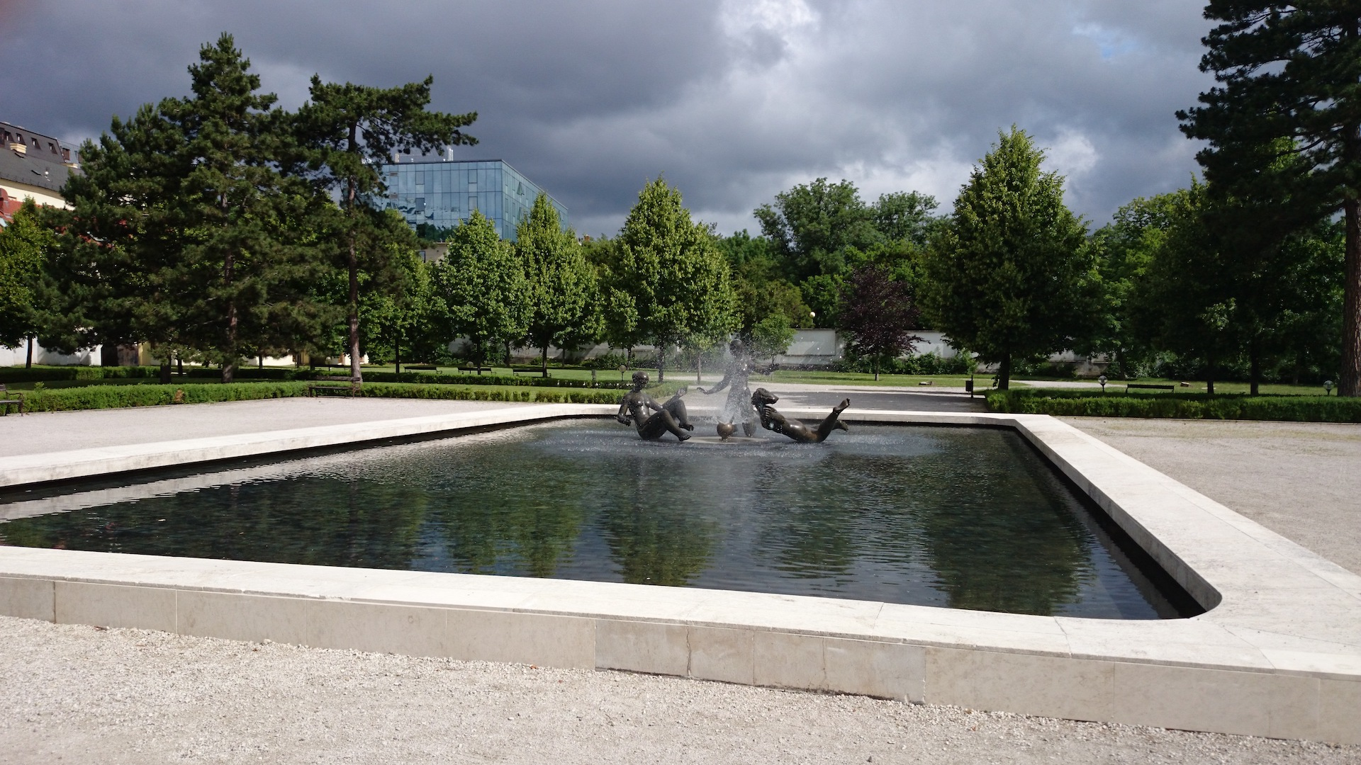 Technologia, fontana Radost zo zivota, Bratislava