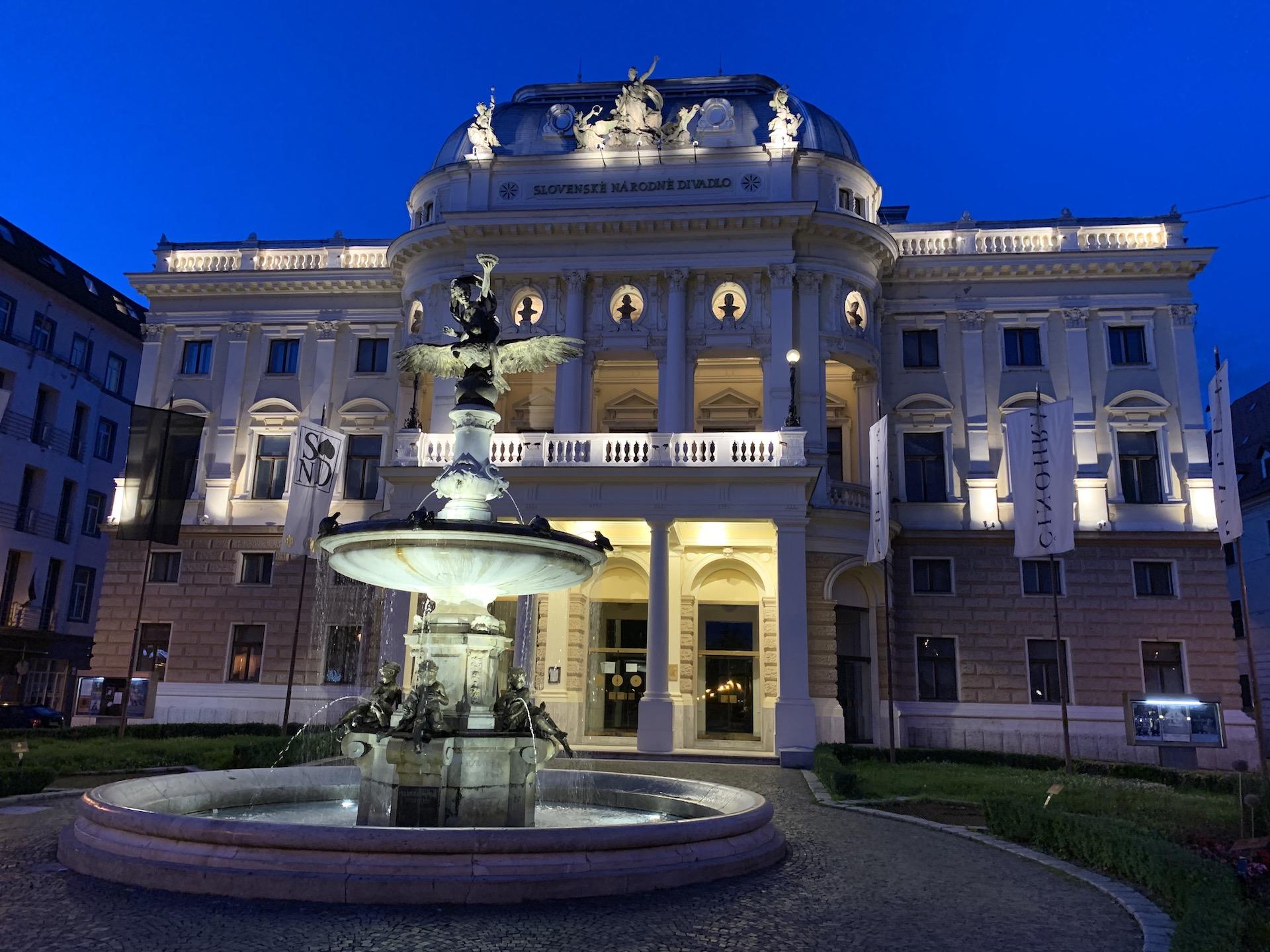 Technologia, Ganymedova fontana, Bratislava