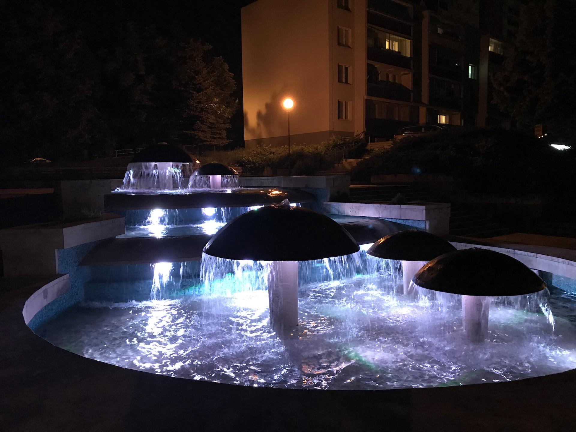 Technologia, fontana Rodina, Bratislava